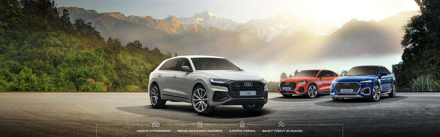 Prémiová ponuka Audi.