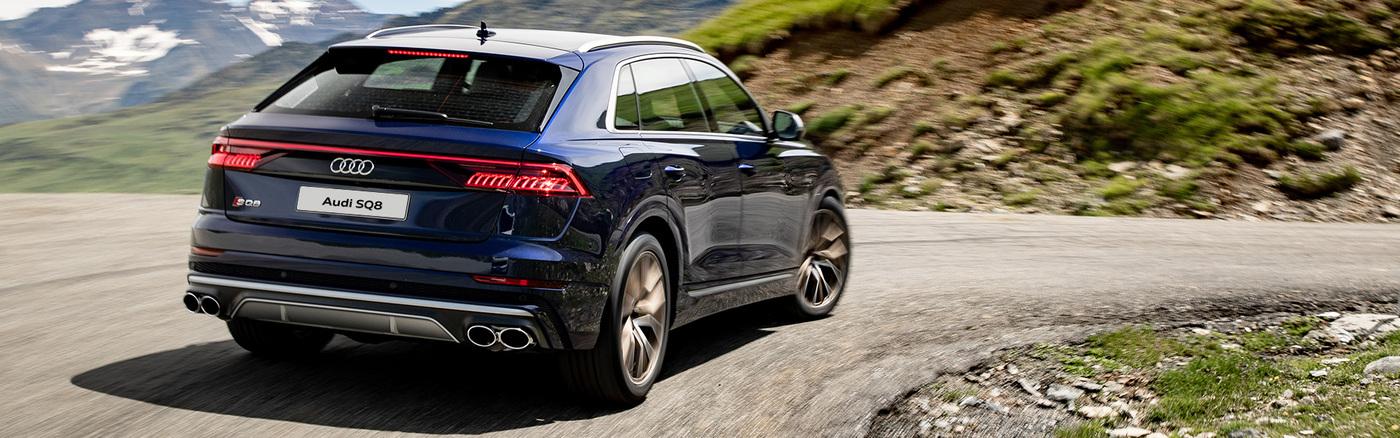 Nové Audi SQ8